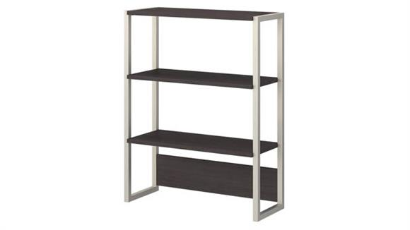 Bookcases Bush Furnishings Bookcase Hutch