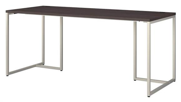 "Computer Desks Bush Furnishings 72""W Table Desk"