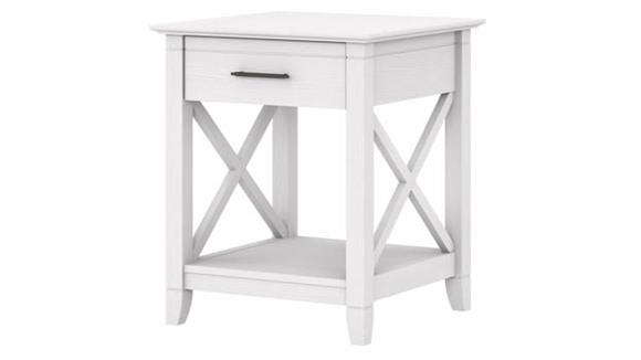 End Tables Bush Furnishings End Table with Storage