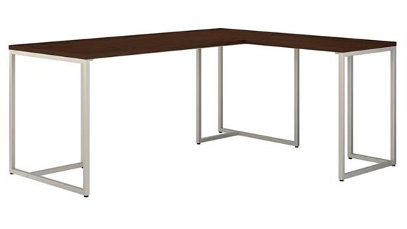 "Computer Desks Bush Furnishings 72"" L-Shaped Desk"
