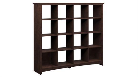 Bookcases Bush Furnishings 16 Cube Bookcase