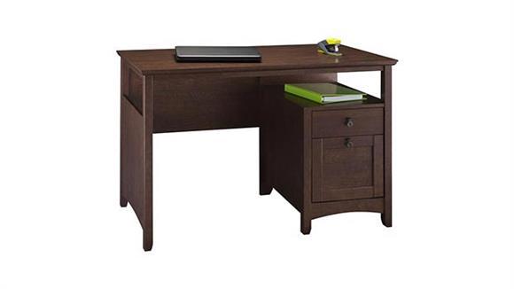 Executive Desks Bush Furnishings Single Pedestal Desk