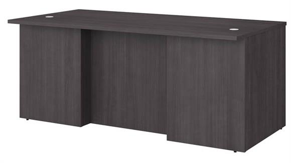 "Executive Desks Bush Furnishings 72""W x 36""D Executive Desk"