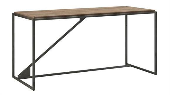 "Computer Desks Bush Furnishings 62"" W Industrial Desk"