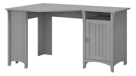 """Corner Desks Bush Furnishings 55""""W Corner Desk with Storage"""