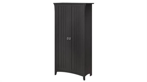 "Storage Cabinets Bush Furnishings 63""H Storage Cabinet with Doors"