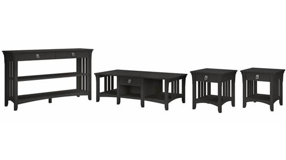 Coffee Tables Bush Furnishings Coffee Table, Console Table and Set of 2 End Tables