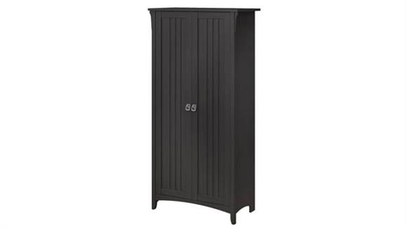 Storage Cabinets Bush Furnishings Tall Storage Cabinet with Doors