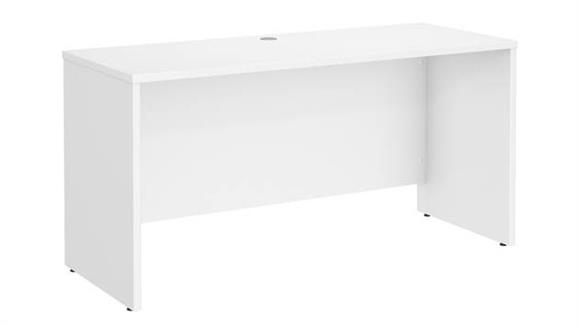 "Office Credenzas Bush Furnishings 60"" W x 24"" D Credenza Desk"