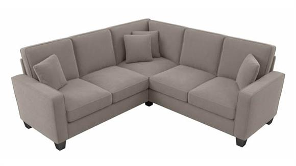 """Sectional Sofas Bush Furnishings 86""""W L-Shaped Sectional Couch"""