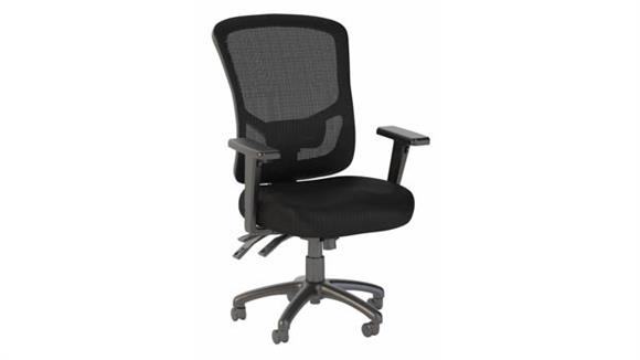 Office Chairs Bush Furnishings High Back Multifunction Mesh Executive Office Chair