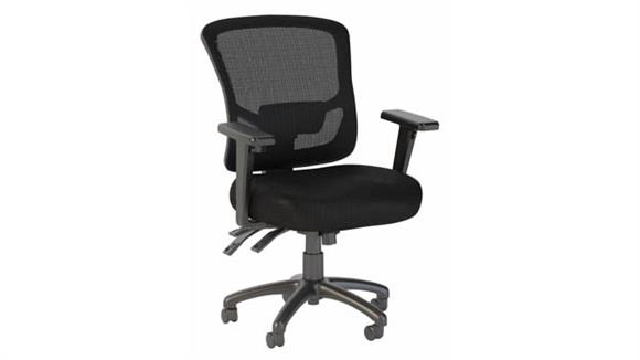 Office Chairs Bush Furnishings Mid Back Multifunction Mesh Executive Office Chair