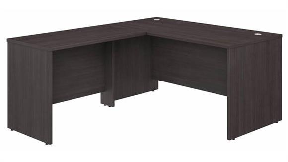 """L Shaped Desks Bush Furnishings 60""""W x 30""""D L-Shaped Desk with 42""""W Return"""