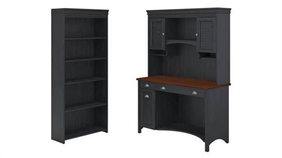 Computer Desks Bush Furnishings Three Piece Office Suite