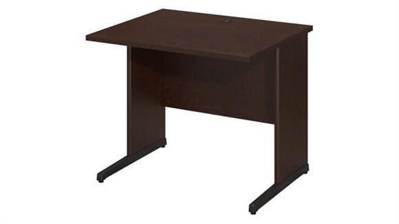 "Executive Desks Bush Furnishings 36""W x 30""D C-Leg Desk"