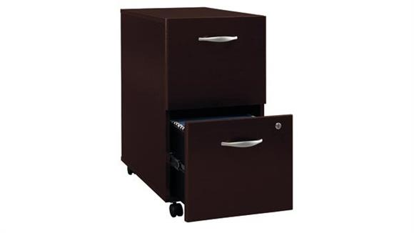 File Cabinets Bush Furnishings 2 Drawer Mobile Vertical File