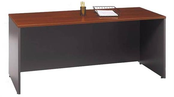 "Office Credenzas Bush Furnishings 71"" Credenza Shell"