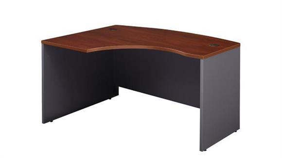 Executive Desks Bush Furnishings Left L Bow Front Desk Shell