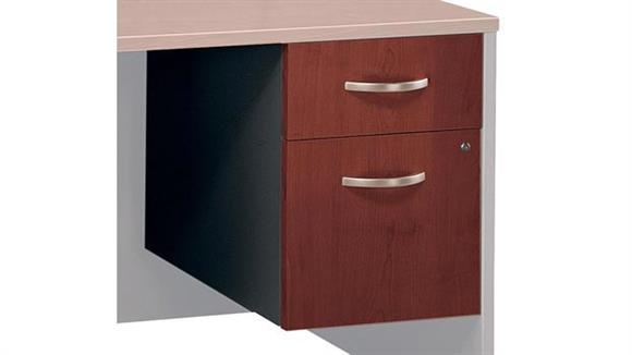 File Cabinets Bush Furnishings 3/4 Pedestal