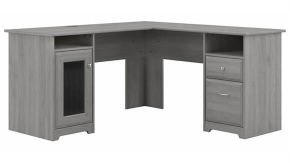 "L Shaped Desks Bush Furnishings 60""W L-Shaped Desk"