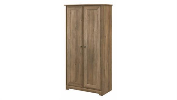 Storage Cabinets Bush Furnishings 2 Door Tall Storage Cabinet