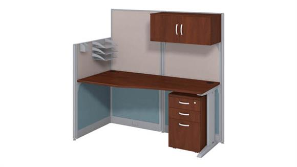 Workstations & Cubicles Bush Furnishings Workstation with Storage