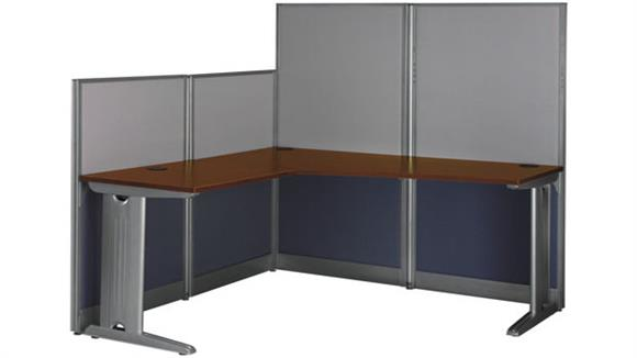 Workstations & Cubicles Bush Furnishings L Shaped Workstation
