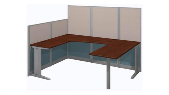 Workstations & Cubicles Bush Furnishings U Shaped Workstation