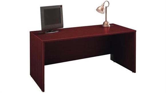 """Executive Desks Bush Furnishings 66"""" Desk Shell"""
