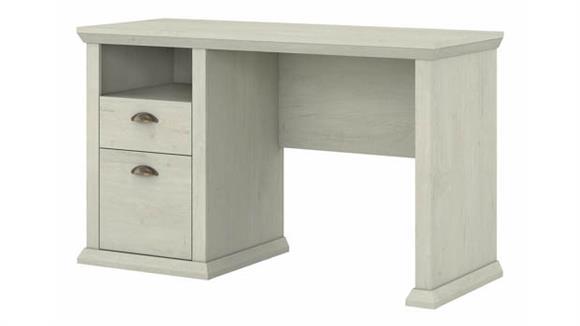 "Computer Desks Bush Furnishings 50""W Home Office Desk with Storage"