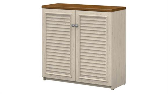 Storage Cabinets Bush Furnishings Small Storage Cabinet with Doors