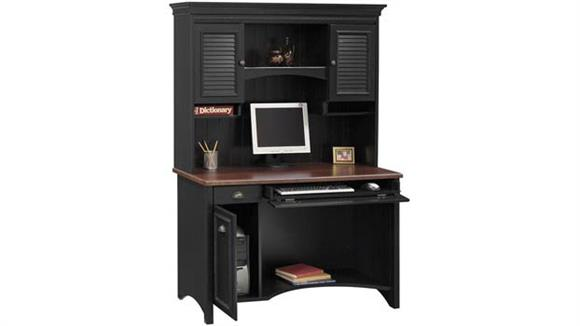 Computer Desks Bush Furnishings Computer Desk with Hutch