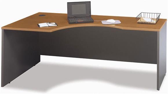 Corner Desks Bush Furnishings Left Corner Desk Module
