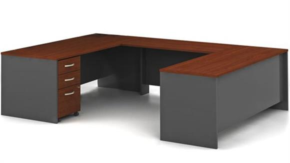 U Shaped Desks Bush Furnishings U Shaped Desk