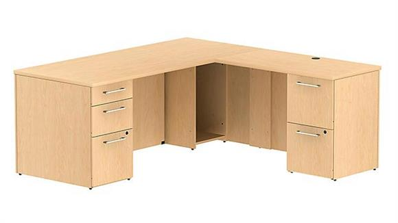 "L Shaped Desks Bush 72"" L Shaped Desk"