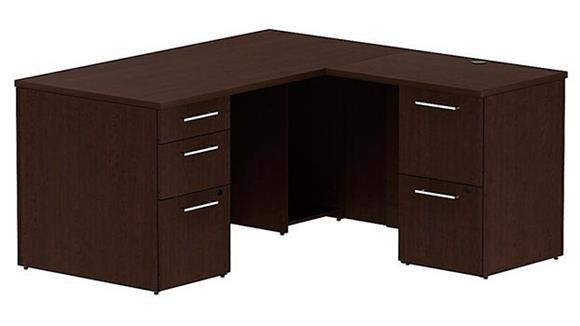 "L Shaped Desks Bush 60"" x 60"" L Shaped Desk"