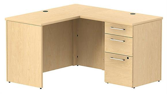L Shaped Desks Bush Compact L Shaped Desk