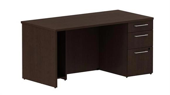 "Executive Desks Bush 60"" Single Pedestal Desk"