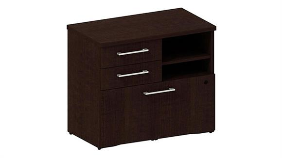"Storage Cabinets Bush 30"" Piler / Filer Cabinet"