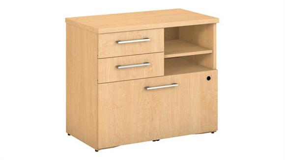 "File Cabinets Lateral Bush 30""W Piler Filer Cabinet"