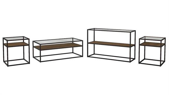 Coffee Tables Bush Coffee Table, Console Table and Set of 2 End Tables