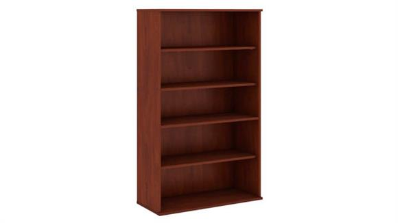 "Bookcases Bush 66""H Five Shelf Bookcase"