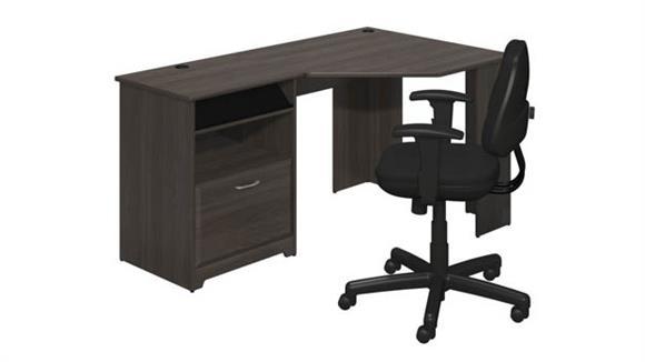 Corner Desks Bush Corner Desk and Office Chair