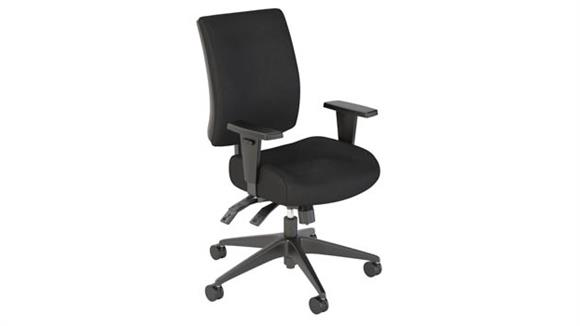 Office Chairs Bush Mid Back Deluxe Multi-function Office Chair