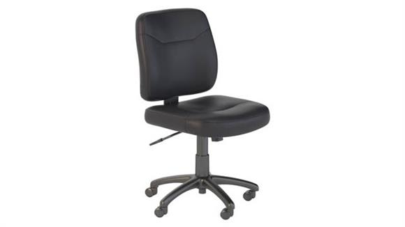 Office Chairs Bush Leather Task Chair