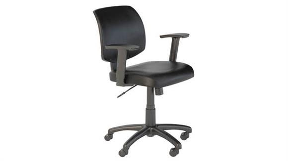 Office Chairs Bush Leather Office Chair