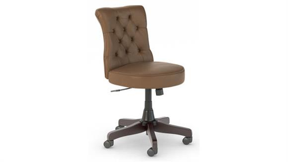 Office Chairs Bush Mid Back Tufted Office Chair