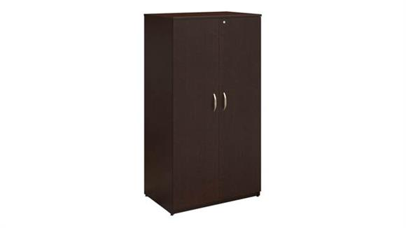 "Storage Cabinets Bush 36""W Wardrobe Storage Cabinet"