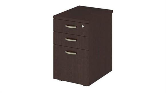 "Mobile File Cabinets Bush 16""W Mobile File Cabinet"