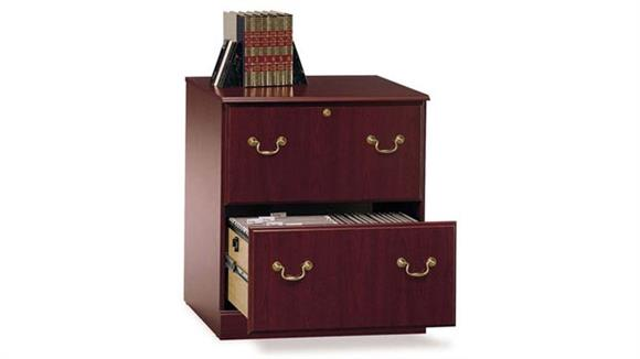 File Cabinets Lateral Bush 2 Drawer Lateral File Cabinet